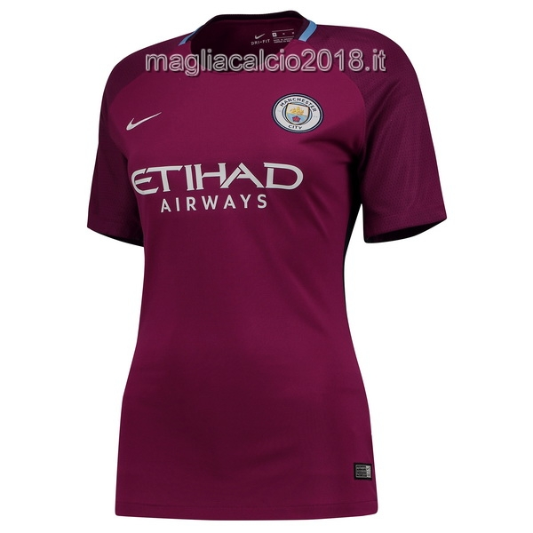 Away Donna Maglia Manchester City 2017 2018