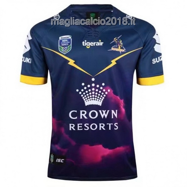 ISC Auckland 9's Rugby Maglia Melbourne Storm 2017 Blu