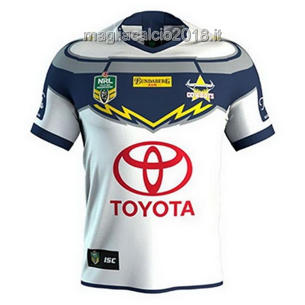 Away Rugby Maglia North Queensland Cowboys 2018 Bianco