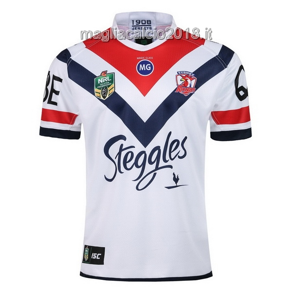 ISC Away Rugby Maglia Sydney Roosters 2018 Bianco