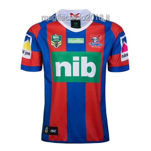 ISC Home Rugby Maglia Newcastle Knights 2018 Rosso