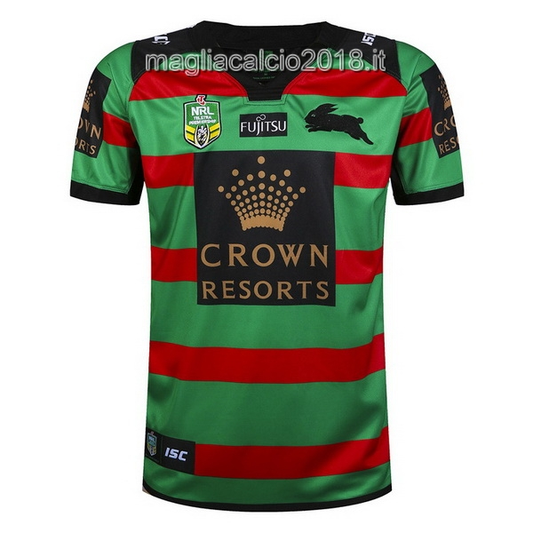 ISC Home Rugby Maglia South Sydney Rabbitohs 2017 Verde