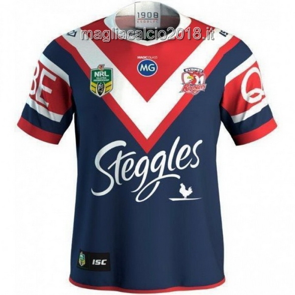 ISC Home Rugby Maglia Sydney Roosters 2018 Blu