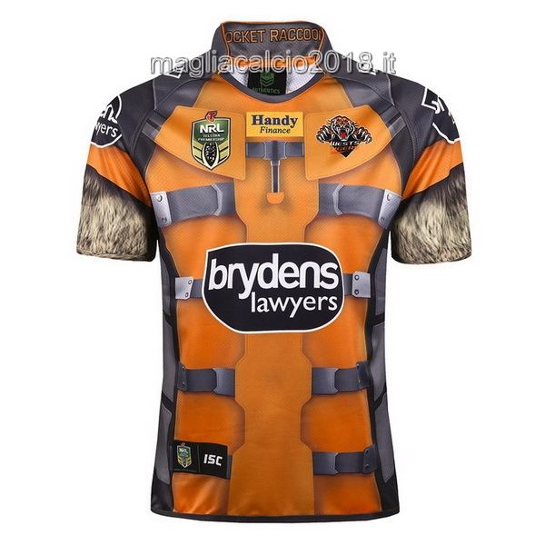 ISC Meraviglia Rugby Maglia Wests Tigers 2017 Giallo