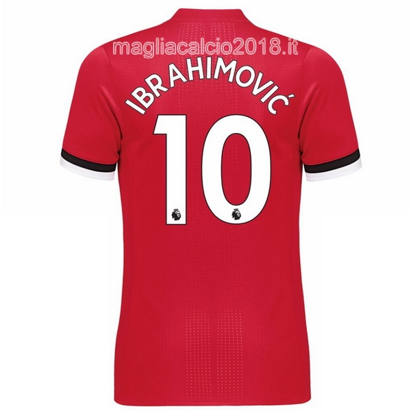 Ibrahimovic Home Maglia Manchester United 2017 2018