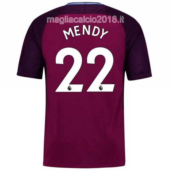 Mendy Away Maglia Manchester City 2017 2018