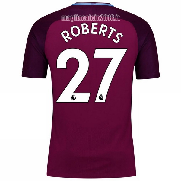 Roberts Away Maglia Manchester City 2017 2018