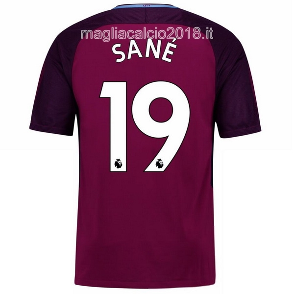 Sane Away Maglia Manchester City 2017 2018