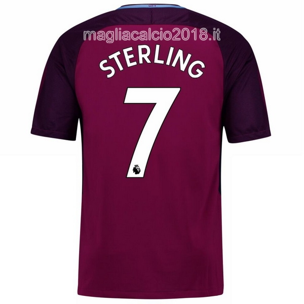 Sterling Away Maglia Manchester City 2017 2018