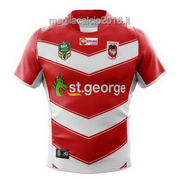 Xblades Away Rugby Maglia ST George 2018 Rosso