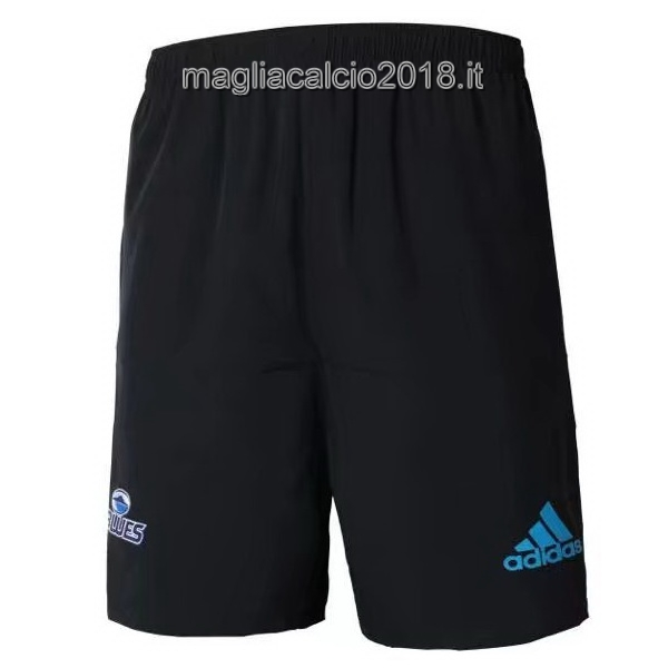 Home Rugby Pantaloni Blues 2018 Nero