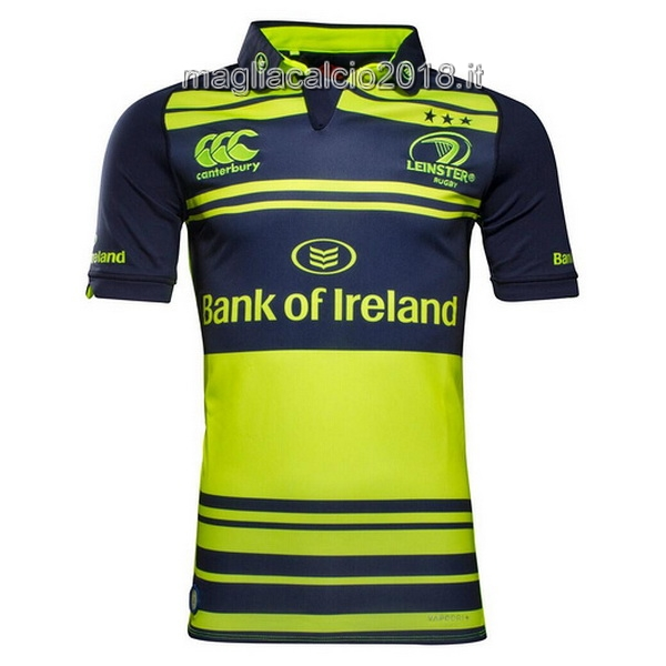 canterbury Away Rugby Maglia Leinster 2017 Nero Verde