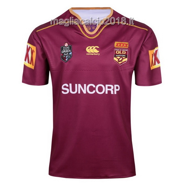 canterbury Rugby Maglia QLD Maroons