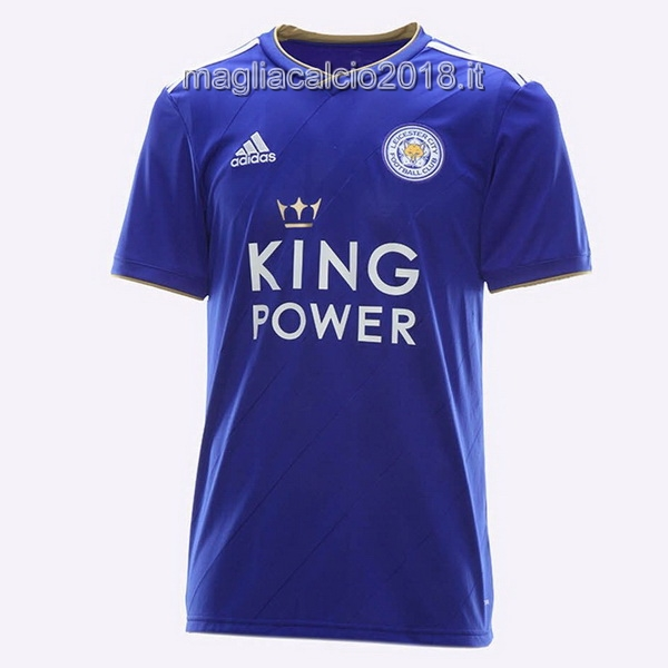 Home Maglia Leicester City 2018 2019