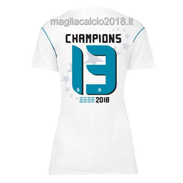 Champions 13 Home Maglia Donna Real Madrid 2017 2018