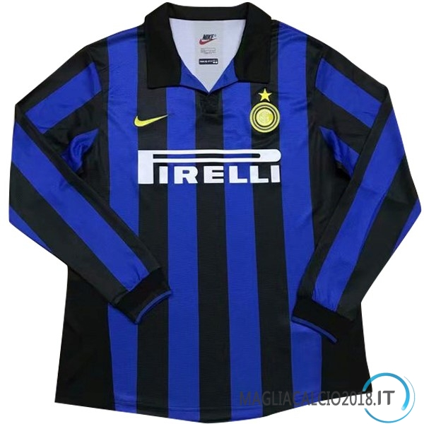 Home Manica lunga Inter Milan Retro 1998 1999