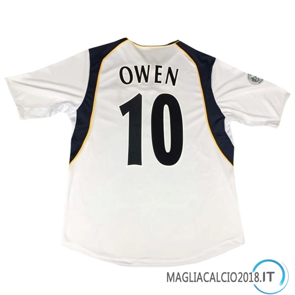 Owen European Super Cup Home Maglia Liverpool Retro 2005