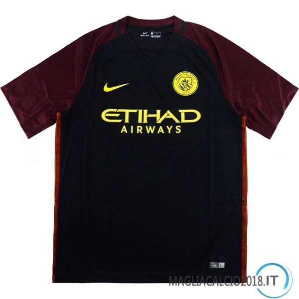 Away Maglia Manchester City Retro 2016 2017