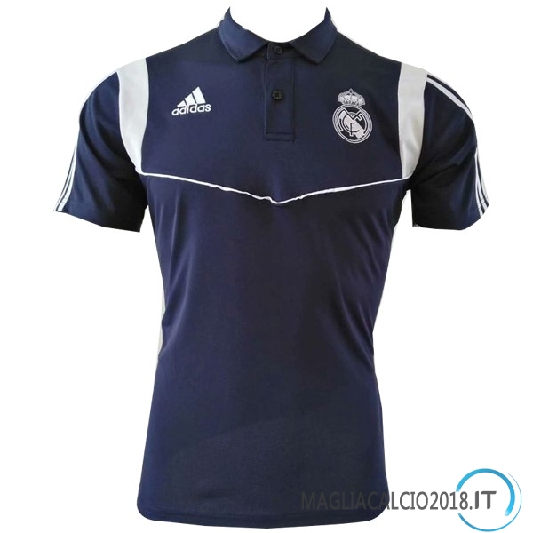 Polo Maglia Real Madrid 2019 2020 Blu Navy