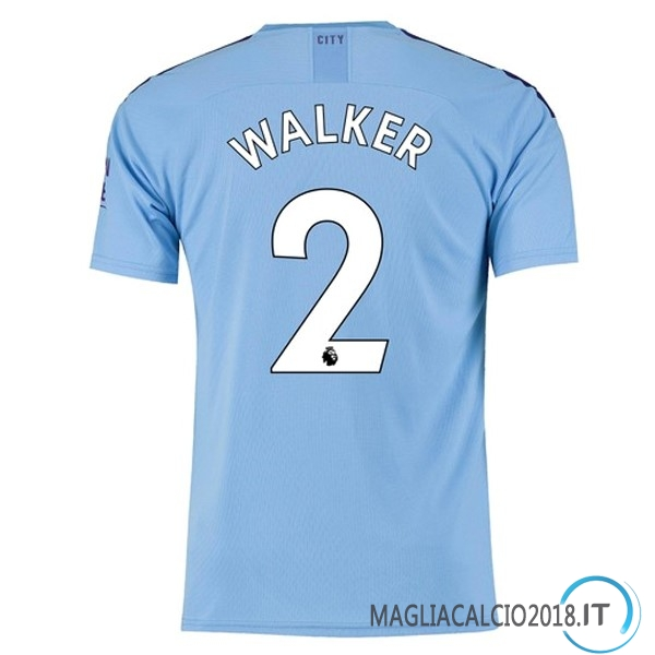 Walker Home Maglia Manchester City 2019 2020