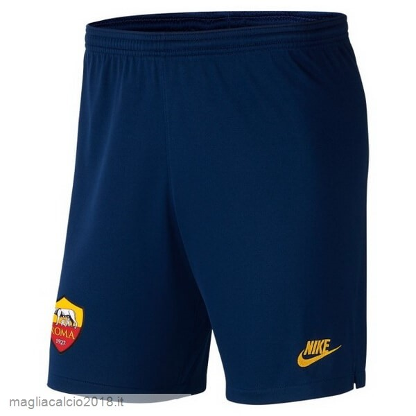 Terza Pantaloni As Roma 2019 2020 Blu