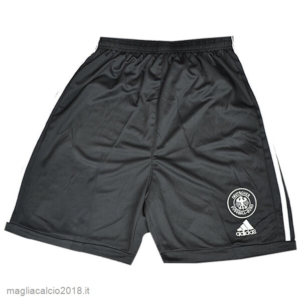 Home Pantaloni Germania Retro 2002 Nero
