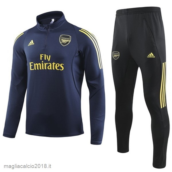Tuta Calcio Arsenal 2019 2020 Blu Navy Giallo