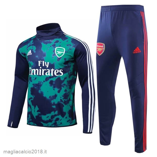 Tuta Calcio Arsenal 2019/20 Verde Blu