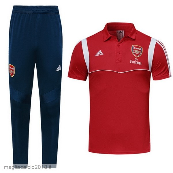 Set Completo Polo Arsenal 2019 2020 Rosso