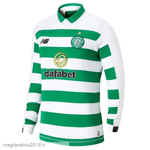 Home Manica lunga Celtic 2019 2020 Verde