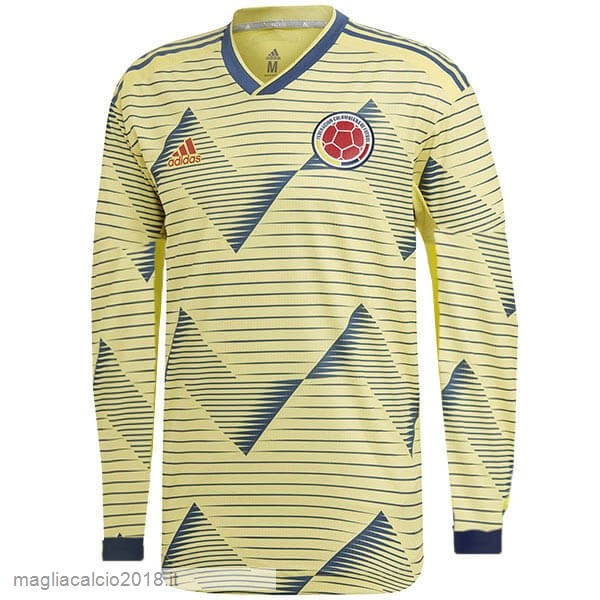 Home Manica lunga Columbia 2019 Giallo