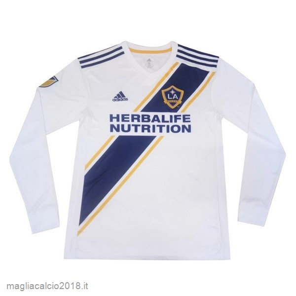 Home Manica lunga Los Angeles Galaxy 2019 2020 Bianco