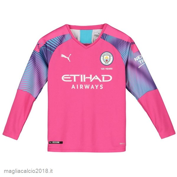 Manica lunga Portiere Manchester City 2019 2020 Rosa