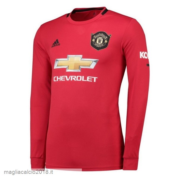 Home Manica lunga Manchester United 2019 2020 Rosso