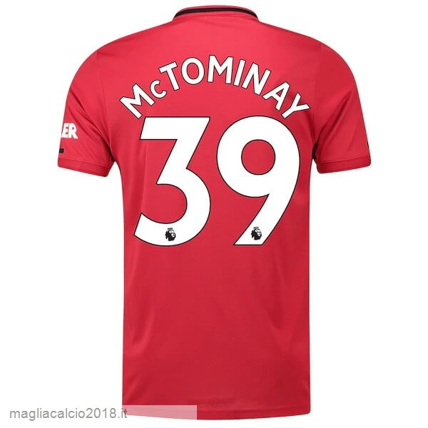 NO.39 McTominay Home Vendere Maglia Manchester United 2019 2020 Rosso
