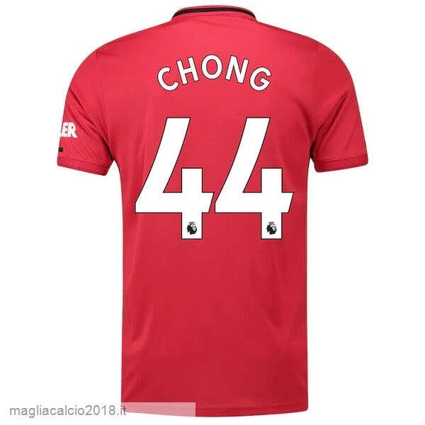 NO.44 Chong Home Vendere Maglia Manchester United 2019 2020 Rosso