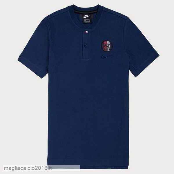 Polo Paris Saint Germain 2019 2020 Blu Navy