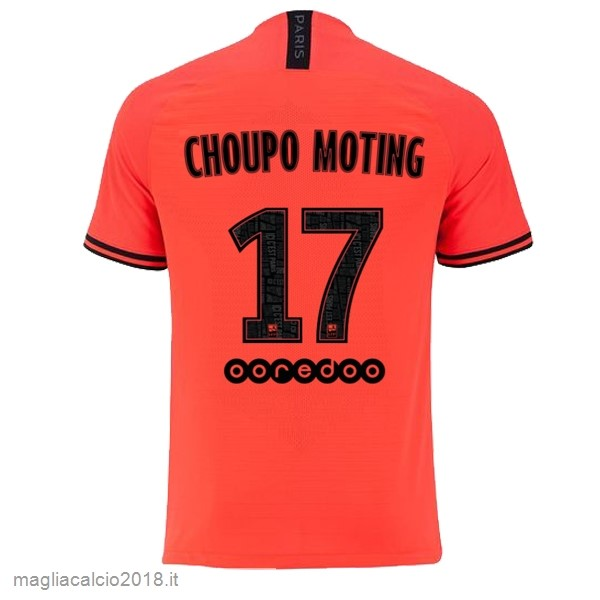 NO.17 Choupo Moting Away Vendere Maglia Paris Saint Germain 2019 2020 Oroange