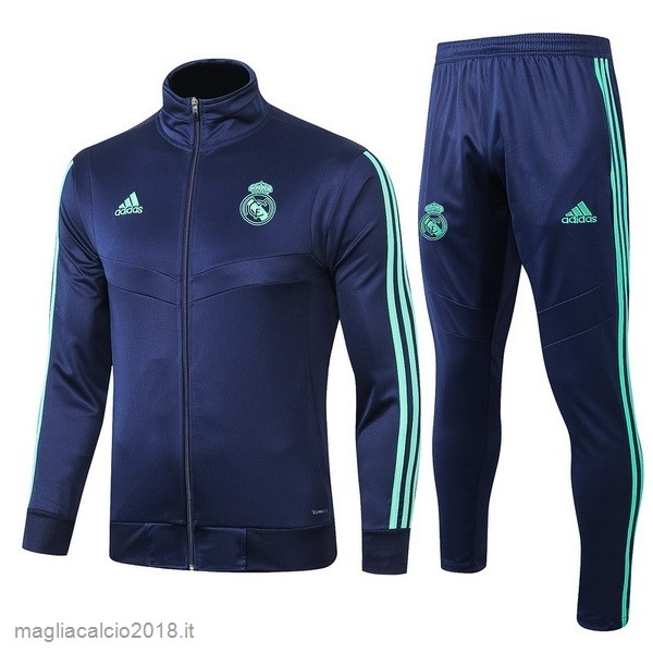 Tuta Calcio Real Madrid 2019 2020 Blu Navy Verde