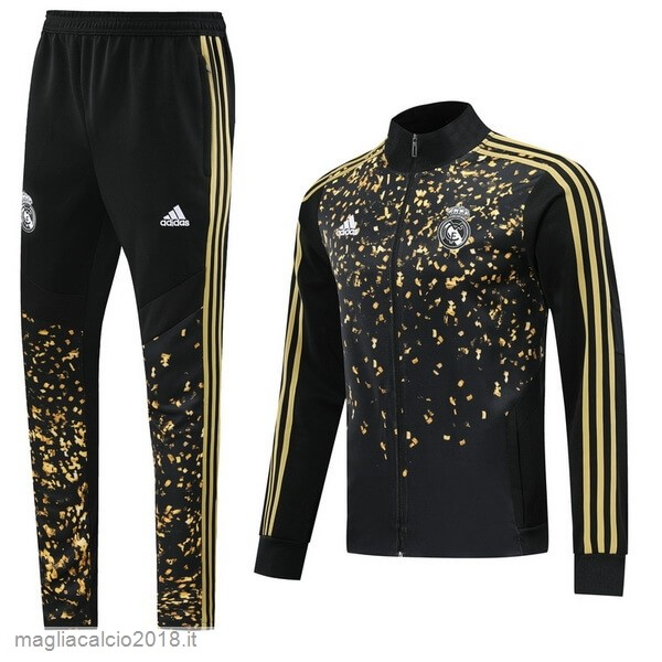 Tuta Calcio Real Madrid Giallo Nero 2019/20