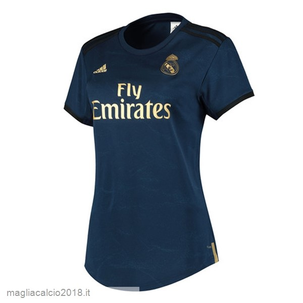 Away Vendere Maglia Donna Real Madrid 2019 2020 Blu