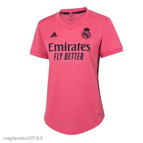 Away Vendere Maglia Donna Real Madrid 2020 2021 Rosa