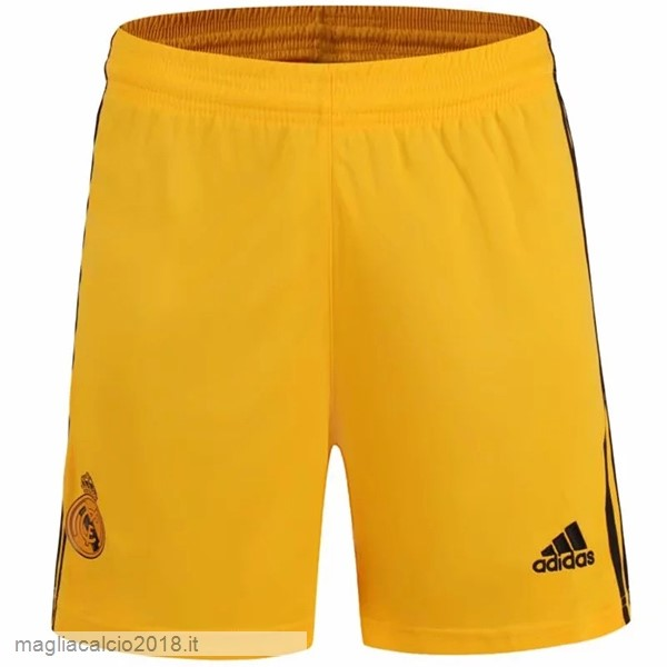 Home Portiere Pantaloni Real Madrid 2019 2020 Giallo