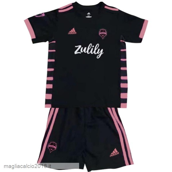 Away Conjunto De Bambino Seattle Sounders 2019 2020 Nero