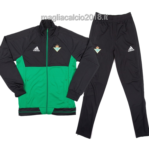 Giacca Real Betis 2017 2018 Verde Nero