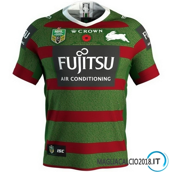 Anzac Round Rugby Maglia Rabbitohs 2018 Verde