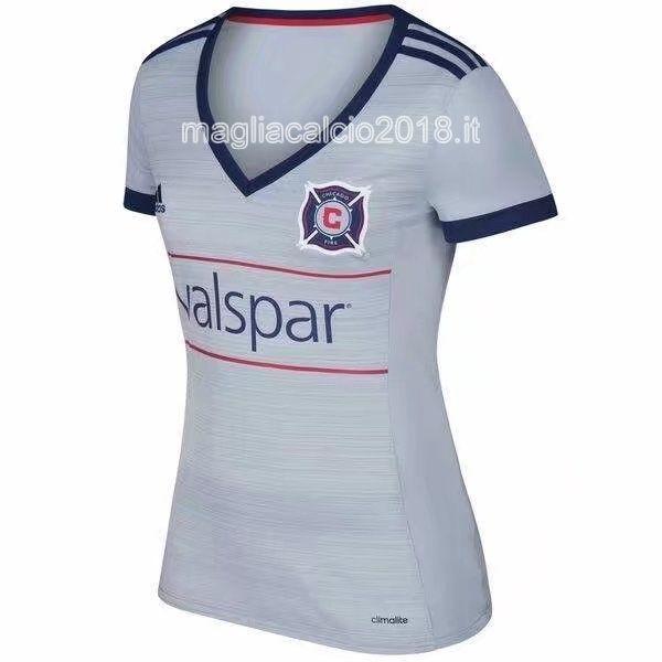Away Donna Maglia Chicago Fire 2017 2018