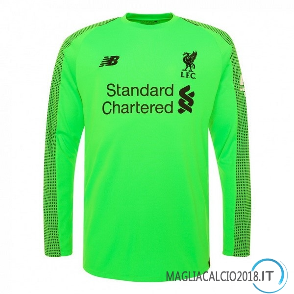 Away Manica Lunga Portiere Liverpool 2018 2019