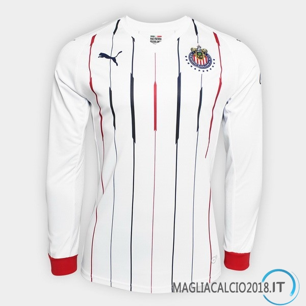 Away Manica lunga CD Guadalajara 2018 2019