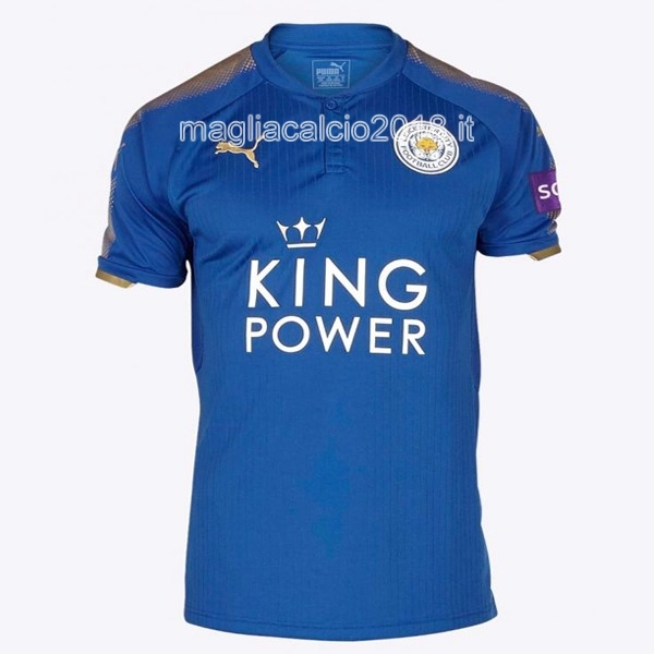 Home Maglia Leicester City 2017 2018